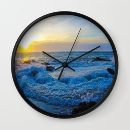 Thor's Well Bubbling Wall Clock