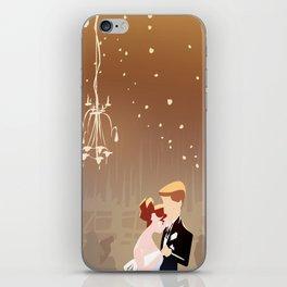 Barn Wedding iPhone Skin