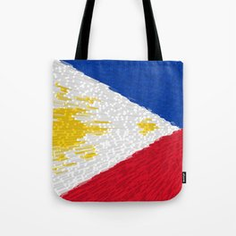Extruded flag of the Philippines Tote Bag