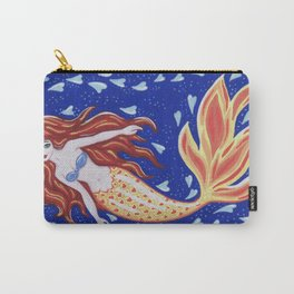 Flame of the Sea Carry-All Pouch