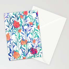 Vibrant Floral #society6 #buyart #decor Stationery Cards
