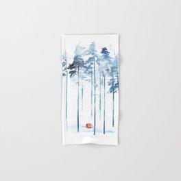 Sleeping in the woods Hand & Bath Towel