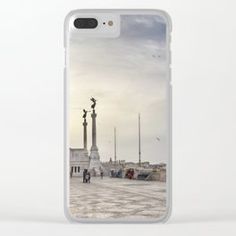 Vittoriano Clear iPhone Case