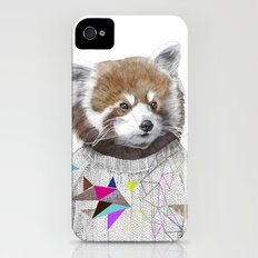 RED PANDA by Jamie Mitchell and Kris Tate Slim Case iPhone (4, 4s)