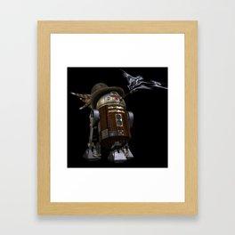 Steampunk Sci-Fi  Framed Art Print