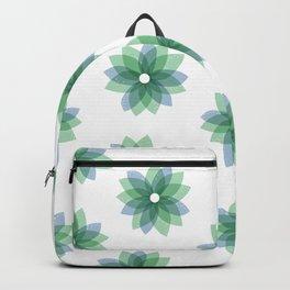 Geo Spring Flowers 01 Backpack