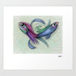 ditto Art Print