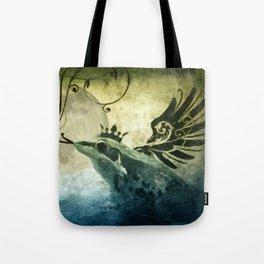 Frog Prince Midnight Fantasy Tote Bag