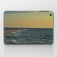 sailboat iPad Cases featuring Sailboat by Damn_Que_Mala