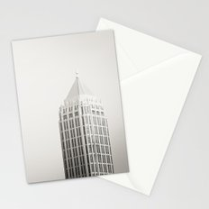 Three Buildings  Stationery Cards