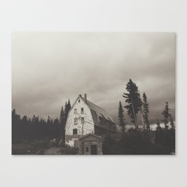 Semi-inviting Lodge Canvas Print