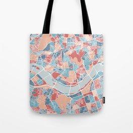 Seoul map Tote Bag