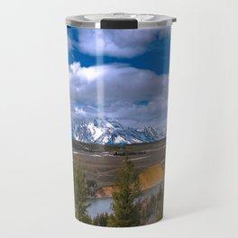Tetons and the Snake River Travel Mug