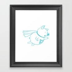 piggy 07 Framed Art Print