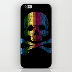 Deadly in Love with Colors iPhone & iPod Skin
