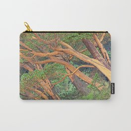 ORCAS ISLAND MADRONA TREES IN A PARALLEL REALITY FOREST Carry-All Pouch