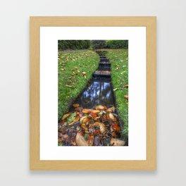 Autumn Waters Framed Art Print