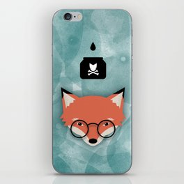 Smart Fox iPhone Skin