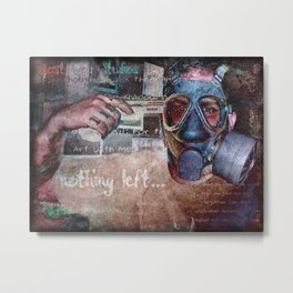 Nothing Left Metal Print