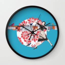 Laundry times Wall Clock