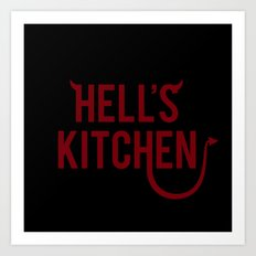 Devil of Hell's Kitchen Art Print