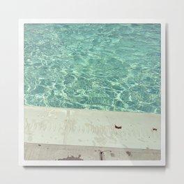 Pool No. 1 Metal Print