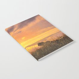 Sunset by Alan M Hunt Notebook