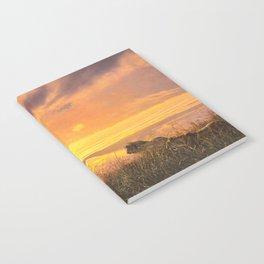 Sunset by Alan M Hunt Notebook