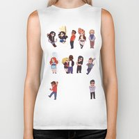teen wolf Biker Tanks featuring Teen Wolf! by Madeoftin