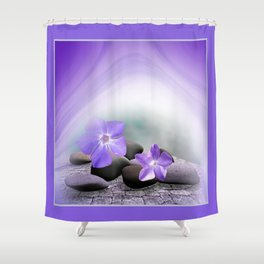 spring is announced -3- Shower Curtain