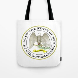 seal of new mexico Tote Bag