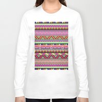 number Long Sleeve T-shirts featuring OVERDOSE by Bianca Green