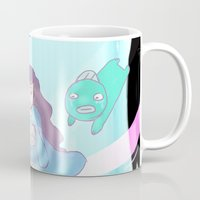 puppycat Mugs featuring Bee's Dream Sequence by Sudden Kittens