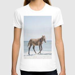 Horse Horse beach T-shirt