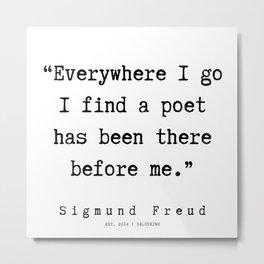 19 |   Sigmund Freud Quotes | 190926 Metal Print