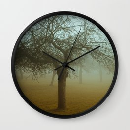 Behind the Mirror Wall Clock
