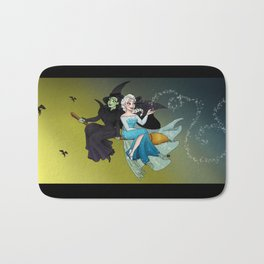 Defying Gravity and Let It Go  Bath Mat