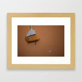 Broom Framed Art Print