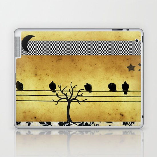 Under The Crescent Moon Laptop & iPad Skin