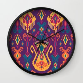 Cloud Tie Twilight Wall Clock