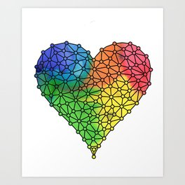 Love Connection Art Print