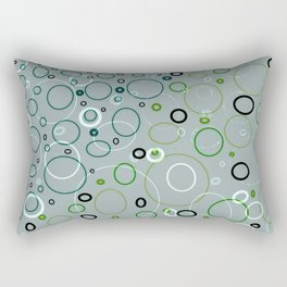 circle metamorphis Rectangular Pillow