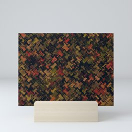 Army shapes Mini Art Print