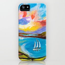 Idyllic Lakeview iPhone Case