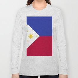 Philippines flag emblem Long Sleeve T-shirt