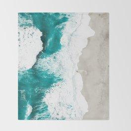 Sea 7 Throw Blanket