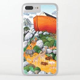 A New Beginning (Noah's Ark) Clear iPhone Case