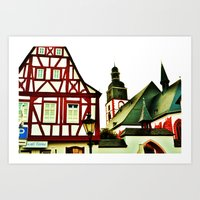 german Art Prints featuring German by Ami Trucci