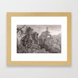 Tower 6 Framed Art Print