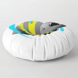 Water magic Floor Pillow